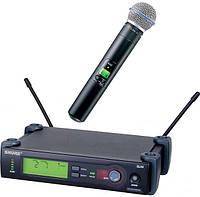 Вокальная радиосистема SHURE Beta 58A-SLX4, беспроводная UHF радиосистема, микрофонная радиосистема Shure