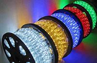 LED лента 3528 Green Red Blue White диоды бухта 100m