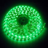 LED Светодиодная лента SMD 5050 12V 5м Зеленый цвет