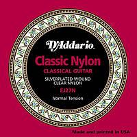 D'Addario EJ27N комплект струн для классической гитары