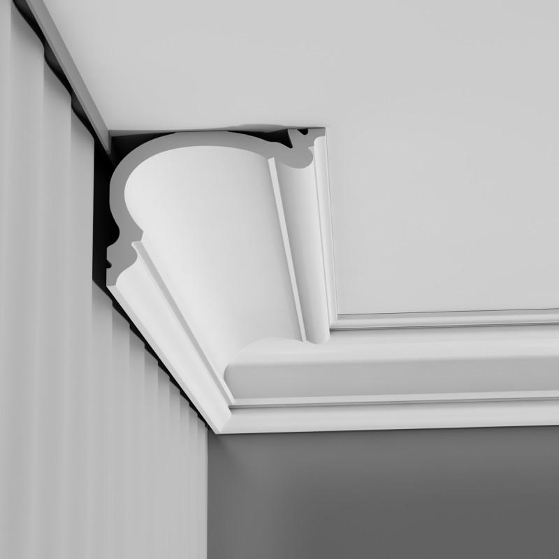 C342 карниз, профиль для штор Orac Décor 200 x 14 x 19 cm