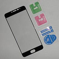 Защитное 3D стекло для экрана Meizu M3 Note (чёрное)