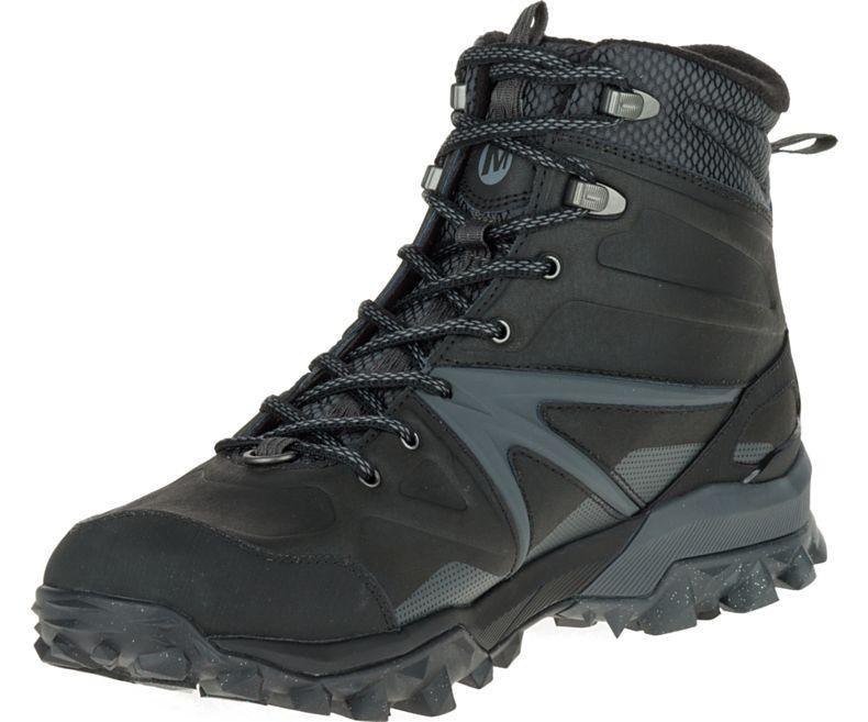 Зимние мужские ботинки  CAPRA GLACIAL ICE+ MID WATERPROOF J35799 Оригинал