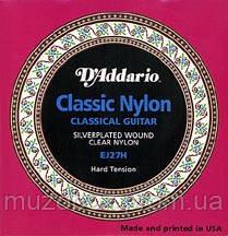 D'Addario EJ27H комплект струн для классической гитары