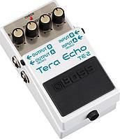 Boss TE2 педаль для гитары Tera Echo - эффект эхо, функция Freeze
