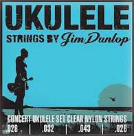 Jim Dunlop DUY302 комплект струн для концертной укулеле