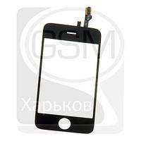 Тачскрин (сенсор) для APPLE iPHONE 3G, черный, оригинал (Китай)