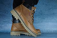 Мужские зимние ботинки Рыжий10566