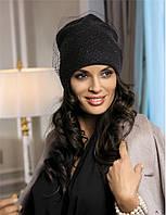 Красивая шапка со стразами и вуалью от Kamea - Candi.