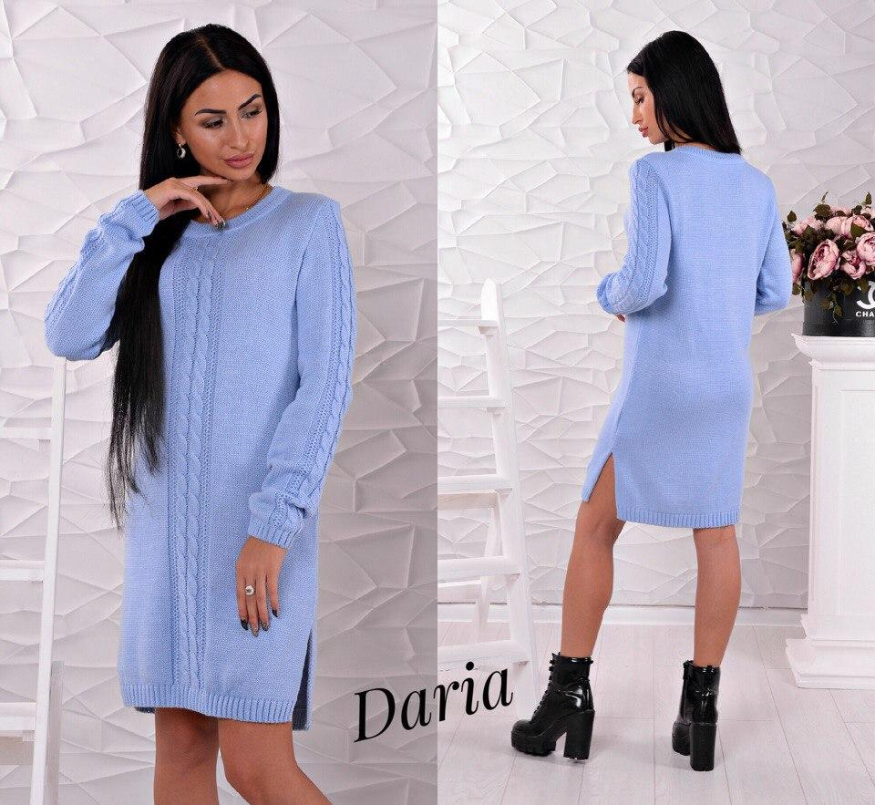 Вязаное платье Турция 6522  заказ, цены в Харькове.  Категорія  от