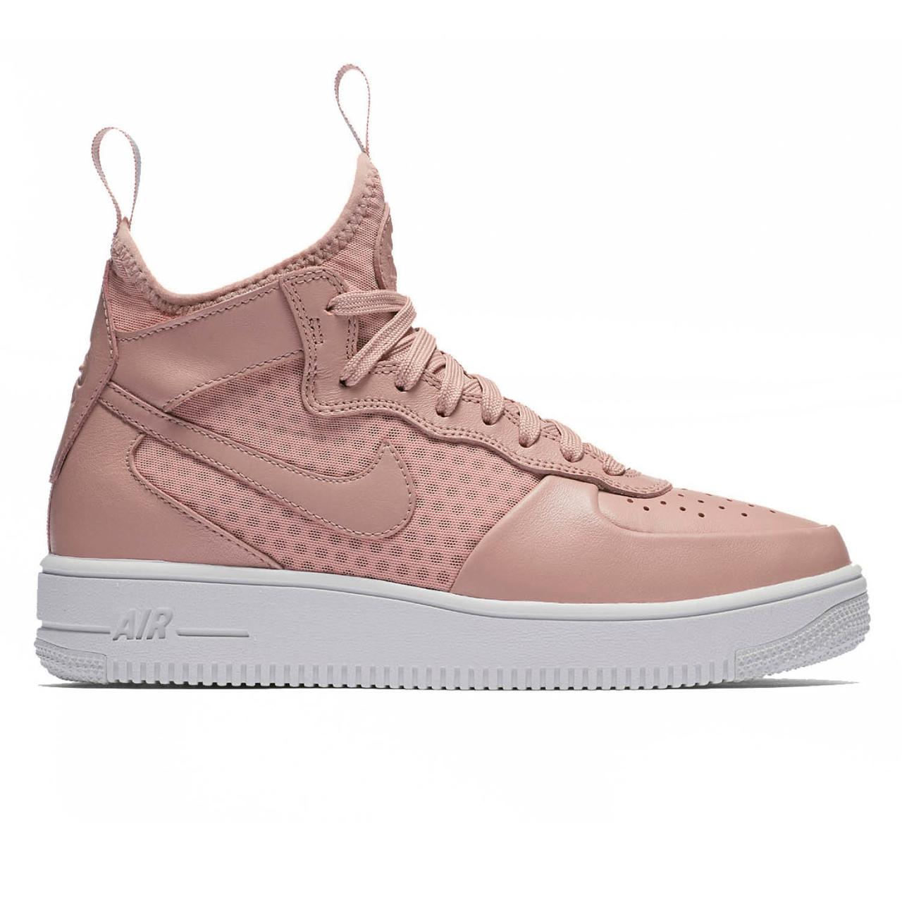 207c75c3525287 Оригинальные Кроссовки Nike Air Force 1 Ultraforce Mid Particle Pink ...