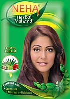 Хна-фарба для волосся NEHA Herbal Mehandi 140г руда виробництва Індії