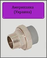 """Сгон американка ППР 40х1 1/4""""  НР (Украина), фото 1"""