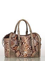 Стильная брендовая сумка под рептилию ZK38-1086 ELEGANZZA