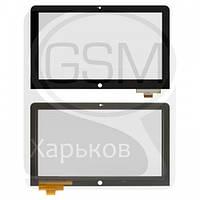 Тачскрин (сенсор) для Lenovo ThinkPad Helix, черный, оригинал (Китай)