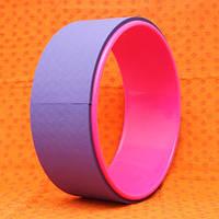 Колесо для йоги фиолетовое (33х33х13,5 см)