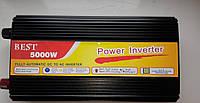 Преобразователь напряжения, инвертор 5000W inverter 12V-220V, инвертор 12 220, авто инвертор, автомобильный