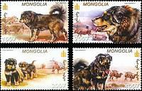 Монголія 2002 собаки MNH XF