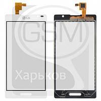 Тачскрин (сенсор) для LG P760 Optimus L9, P765 Optimus L9, P768 Optimus L9, белый, оригинал (Китай)