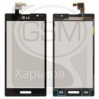Тачскрин (сенсор) для LG P760 Optimus L9, P765 Optimus L9, P768 Optimus L9, черный, оригинал (Китай)