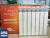 Радиатор биметаллический AAA Bimetal 80A/500, 30Атм