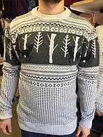 Мужской свитер с оленями,Турция