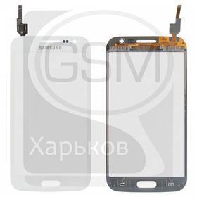 Тачскрин (сенсор) для SAMSUNG GT-i8550 Galaxy Win, GT-i8552 Galaxy Win, белый, оригинал (Китай)