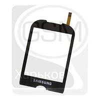 Тачскрин (сенсор) для SAMSUNG GT-S3650 Corby, черный, оригинал (Китай)
