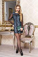 Женское платье Джоанна зеленый ТМ Arizzo 44-50 размеры