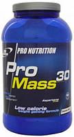 Гейнер Pro Nutrition PRO MASS 30  3000 gr клубника
