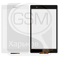 Тачскрин (сенсор) для SONY Xperia Tablet Z3 Compact, белый, оригинал (Китай)