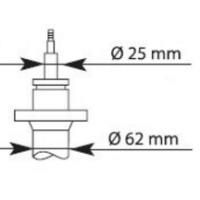 Амортизатор передний Ducato/Boxer 94-06 (1.0-1.5t)