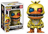 Новинка! Фигурки 5 ночей с Фредди Nightmare Chica Funko POP Games Five Nights at Freddy's