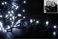 """Гирлянда светодиодная """"6 граней"""" LED 300 (5 мм) белая"""