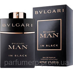 Bvlgari Man In Black (60мл), Мужская Парфюмированная вода  - Оригинал!