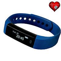 Фитнес трекер VeryFit ID116HR с датчиком сердцебиения для iPhone и Android синий