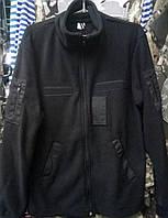 Кофты флис черного цвета форменные
