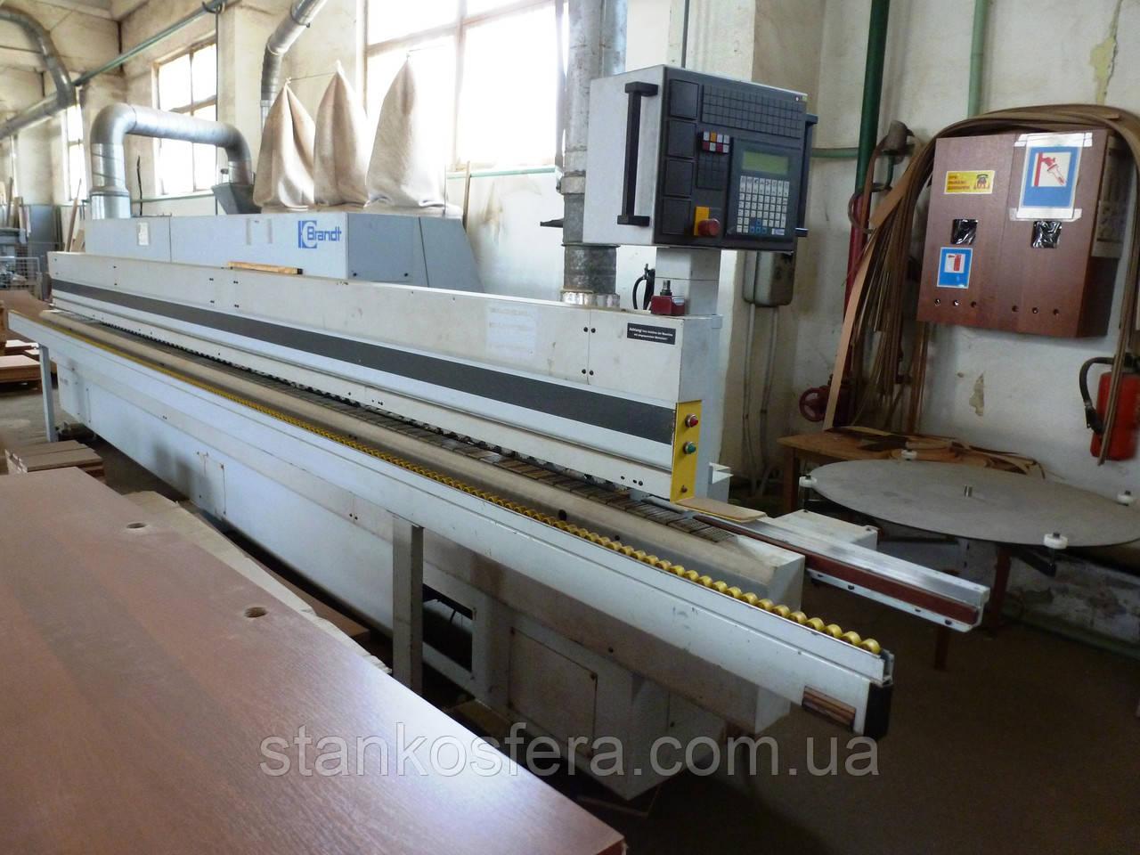 Brandt KD88F кромкооблицовочный станок бу для шпона и деревянных реек до20мм