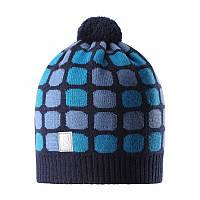 Зимняя шапка для мальчика Reima Kivikko 528552-6980. Размеры 52-56.