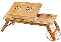 Бамбуковый столик для ноутбука NТ-17 HEM, фото 1