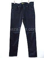 Подростковые утеплённые джинсы оптом купить со склада в Одессе 7 км (13-17 лет)