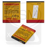 Аккумулятор (батарея) для SAMSUNG GT-C3050, SGH-F110, SGH-J600, SGH-L600, SGH-M600, SGH-M610, Avalanche, 700 mAh