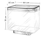 Аквариум средний Juwel (Джувел) Vio 40 LED, черный 30 литров LED освещение, фото 2