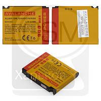 Аккумулятор (батарея) для SAMSUNG SGH-G800, SGH-i200, SGH-L870, GT-M8910, GT-S5230 Star, GT-S5233 Star TV, Avalanche, 900 mAh
