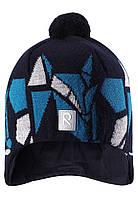Зимняя шапка для мальчика Reima Kaja 528548-698A. Размер 52. , фото 1