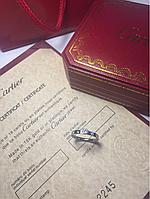 Кольцо Cartier Solitare белое золото