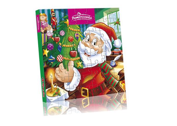 Новогодние конфеты Pomorzanka Pazzle 120g, фото 2
