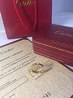 Кольцо Cartier Solitare лимонное золото