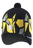 Зимняя шапка для мальчика Reima Kaja 528548-9990. Размеры 50 и 52. , фото 1