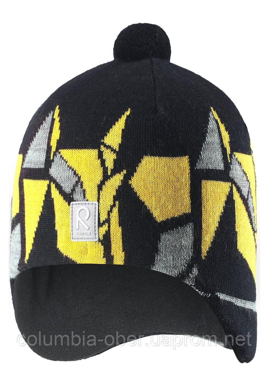 Зимняя шапка для мальчика Reima Kaja 528548-9990. Размеры 50 и 52.